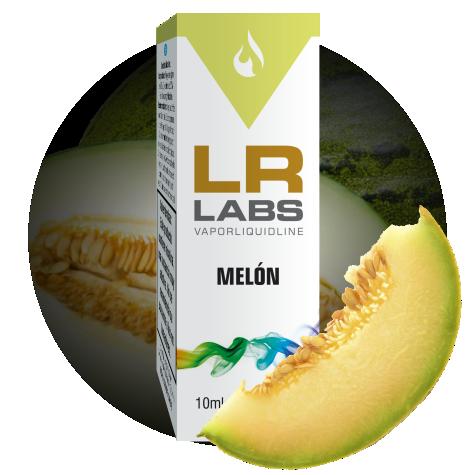 Líquido para cigarrillos electrónicos con sabor a Melón de la marca LR LABS VAPORLIQUIDLINE