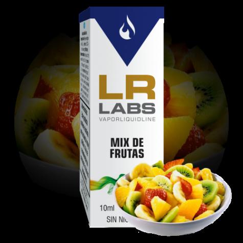 Líquido para cigarrillos electrónicos con sabor a Mix de Frutas de la marca LR LABS VAPORLIQUIDLINE