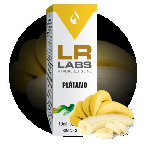 E-liquid sabor plátano