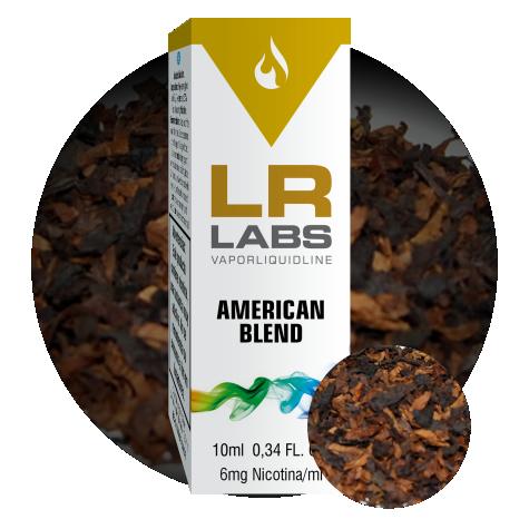 E-liquid sabor Virginia Blend de la marca LR LABS VAPORLIQUIDLINE